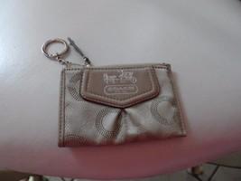 "Coach Taupe card holder, small coin purse 4.5"" x 3"" - $16.50"