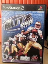 NFL Blitz Pro For PlayStation 2 PS2 Football With Manual and Case Very Good - $9.95