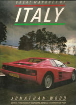 GREAT MARQUES OF ITALY BY JONATHAN WOOD (1987, H.C.) - $73.65