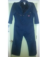 Dickies Insulated Quilted Lined Winter Coveralls Size 46 / 48 - $44.99