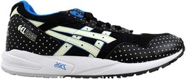 Asics Gel Saga Black/Glow In The Dark H4A0N 9007 Men's SZ 10 - $61.56