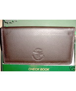 Rico Brown Leather Checkbook North American Elk NEW - $5.00