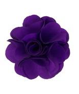 Men's Purple Rose Flower Lapel Pin 13-Purple - $11.99