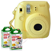 Fujifilm Instax Mini 8 Instant Film Camera - YE... - $109.40