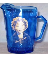 Cobalt Blue Shirley Temple Creamer Pitcher - $9.00