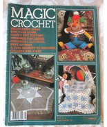 Magic Crochet Tricot Selection #28 -- Back Issue, Vintage Crochet Magazi... - $5.00