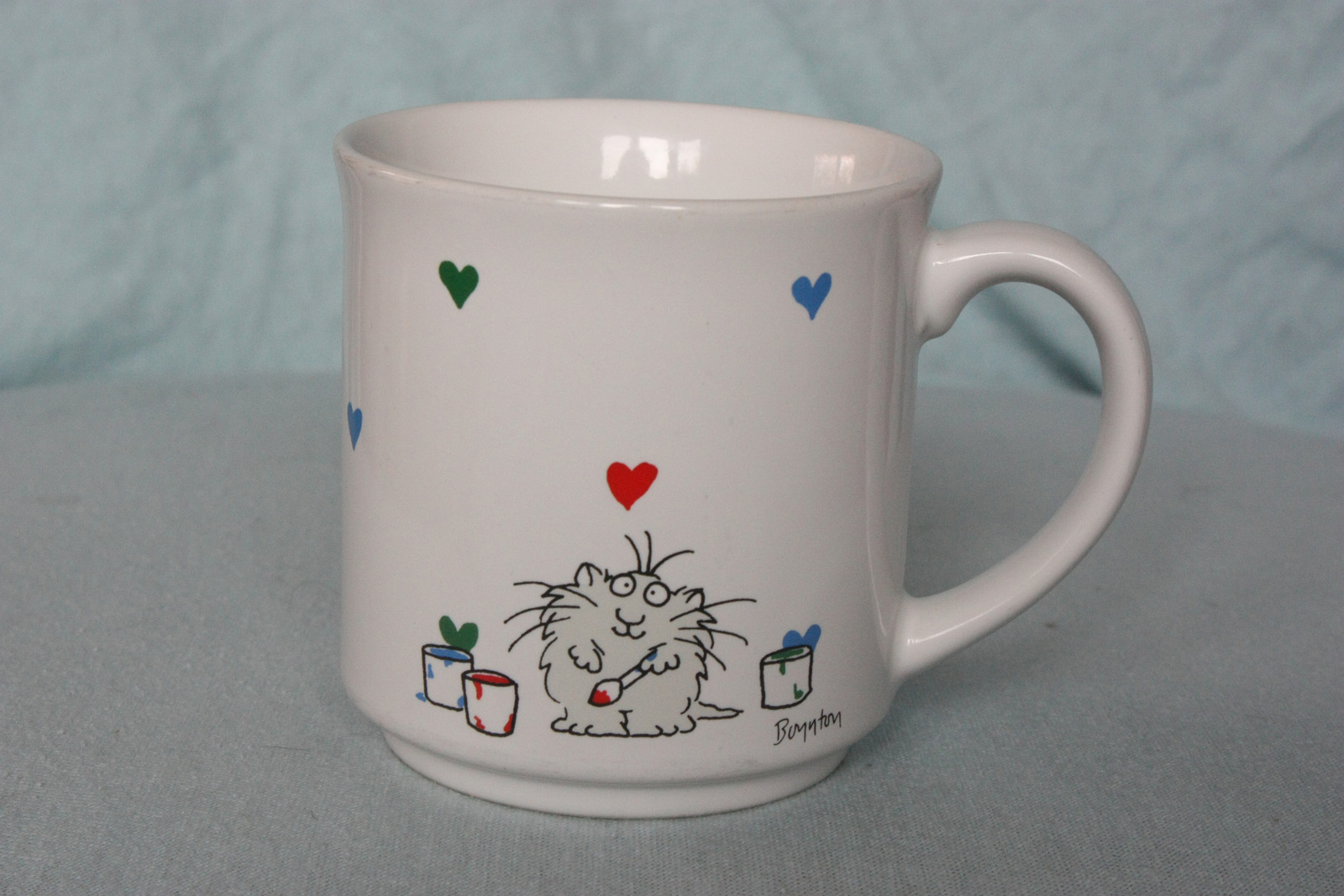 Primary image for Vintage Hallmark Coffee Mug with Cat Love