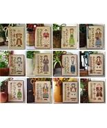 FULL BUNDLE 2014 Calendar Girls cross stitch charts Little House Needleworks - $61.20