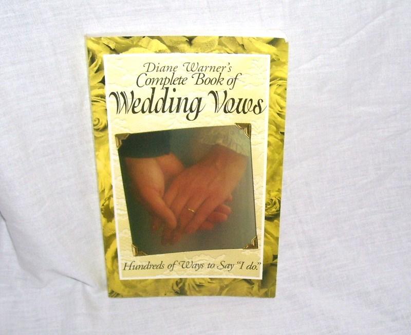 Wedding vows book