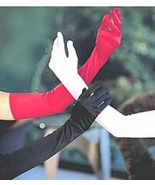 Long Gloves Over the Elbow Opera Length Gloves Fancy Dress Costume Gloves - $19.79