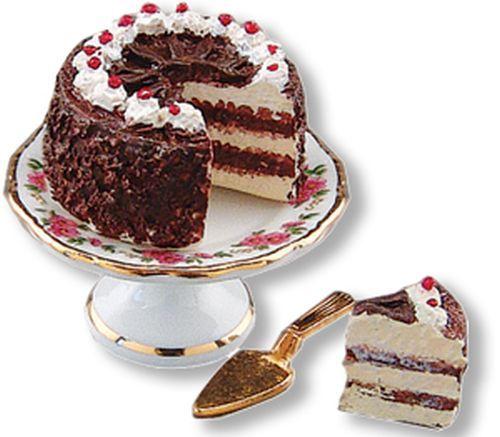 Black forest cake set 16638