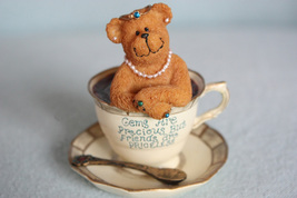 "Boyd Bear ""Gem Teabearie"" ""...Friends are Priceless"" - $9.99"