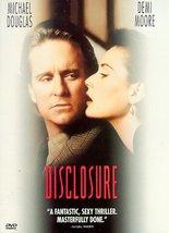 Disclosure [DVD] (1997) Michael Douglas; Demi Moore; Donald Sutherland; ... - $12.99