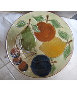 Vintage Spanish Art Pottery Plate 1960's - $29.99