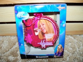 Disney 2008 Hannah Montana Photo Frame Ornament Pink NEW - $15.20