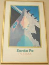"HAND SIGNED LISL DENNIS ""SANTA FE"" POSTER ART P... - $318.39"