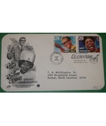 Buddy Holly & Dinah Washington First Day Cover- 29 cent stamps - $8.00