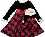 Girls 2t  3t or 4t   18 in dolls   dollie   me black   fuchsia dressy dresses thumb155 crop