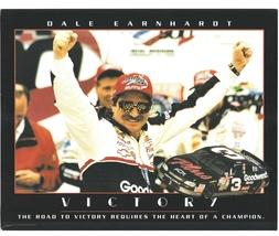 Dale Earnhardt Daytona 500 Vintage 11X14 Color NASCAR Memorabilia Photo - $14.95