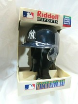 1998 Riddell Sports Collectible New York Yankee Micro Helmet 1/3 Scale - $15.99