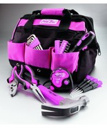 The Original Pink Box 12-Inch Tool Bag and 30-Piece Tool Set Home Office Car - $38.12