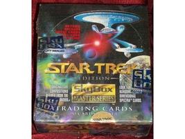 1993 SKYBOX STAR TREK MASTER SERIES TRADING CARD SEALED BOX - $37.99