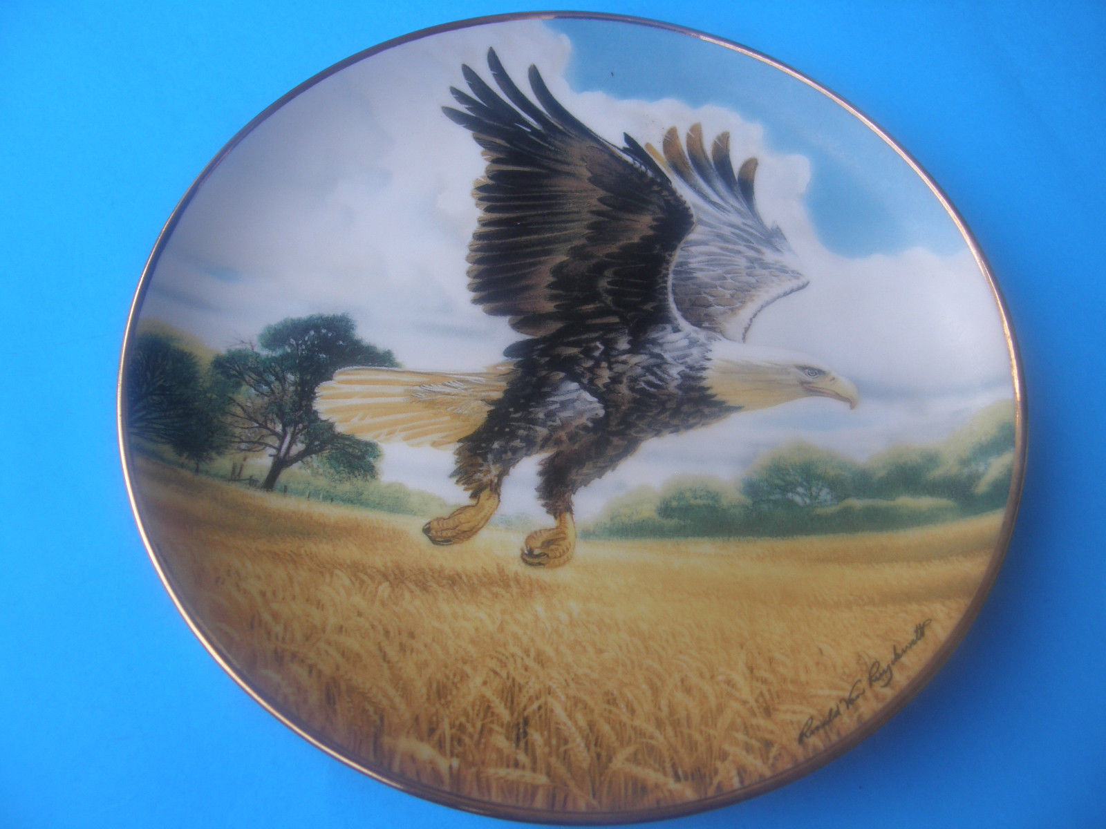 The Franklin Mint Amber Waves Of Grain And 45 Similar Items