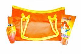 Escada Sunset Heat Perfume 1.6 Oz Eau De Toilette Spray 3 Pcs Gift Set image 1
