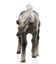 Hagen-Renaker Miniature Ceramic Horse Figurine Silver Black Morgan Colt image 10