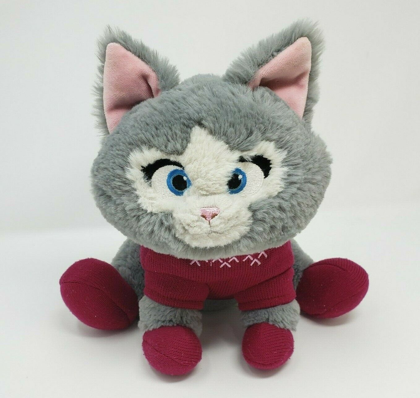 Disney Magasin Frozen Olaf Chaton Chat Mitaines Avec Pull Peluche Animal Jouet - $26.75