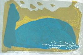 "Hand signed & numbered 1/10 ""Jonah"" Serigraph Judaica Art Print by Zoba - $961.99"
