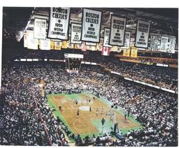 Boston Garden Playoffs Celtics Vintage 11X14 Color Basketball Memorabilia Photo - $15.95