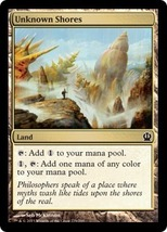 Magic The Gathering-Theros-Unknown Shores - $0.15