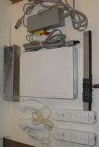 NINTENDO Wii BUNDLE CONSOLE SET RVL-001 Gamecube Port Controller Nunchuk... - $62.70