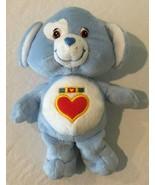 "Care Bear Plush 8"" Stuffed Animal Cousins Loyal Heart Dog Blue - $12.99"