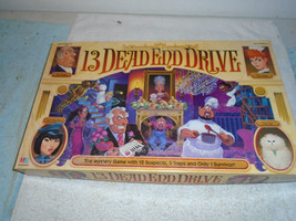 VINTAGE 1993 13 DEAD END DRIVE BOARD GAME 100% COMPLETE - $29.99
