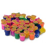 Mini Noise Putty - 48 Pack Assorted Colors - Container 1.25 Inches - Fo... - $37.92