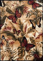 United Weavers Legends Butterfly Jungle Multi Area Rug 5'3'' x 7'2'' - $69.00