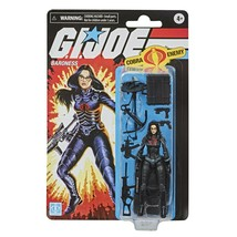 2020 GI Joe Retro BARONESS Walmart Exclusive 3.75 New Hasbro - In Hand - $28.60