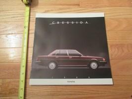 Toyota Cressida 1988 auto Dealer showroom Sales Brochure - $9.99