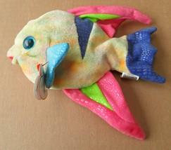 TY Beanie Babies Aruba the Fish Stuffed Animal Plush Toy - 7 inches long... - $9.38