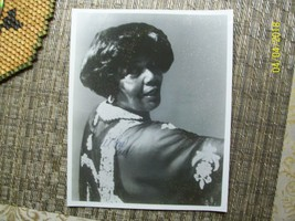 1#   Singer PEARL BAILEY Signed 8X10 Publicity Photograph TONY & EMMY Wi... - $9.89