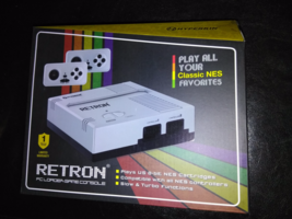 Retron 1 NES System Nintendo Game Console 8 Bit Top Loader Plays Origina... - $15.99