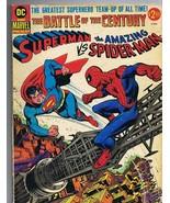 Superman vs Spiderman Treasury Collector's Edition Vintage 1976 DC Marve... - $139.99