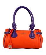 Clemson Tigers The Baywood Ncaa Lincensed Handbag, Wallet & Earrings - $80.75