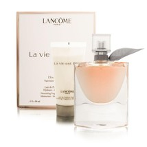 Lancome La Vie Est Belle 1.7 Oz Eau De Parfum spray + Lotion 1.7 Oz 2 Pcs Set image 2