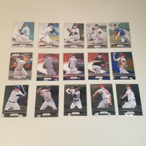 2015 Panini Prizm Red/White/Blue Mojo, Parallels, RC's 15 Baseball Cards Lot - $29.99