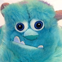 Disney Store SULLEY Plush Monsters Inc Stuffed Animal Official Patch Sea... - $17.81