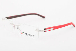 Tag Heuer 8109-011 Trends Red Rimless Eyeglasses 8109 11 56mm - $146.02