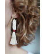 Macrame Earrings - $19.00